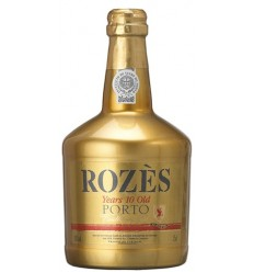 Rozès Porto 10 Years Old Tawny Port Gold Bottle