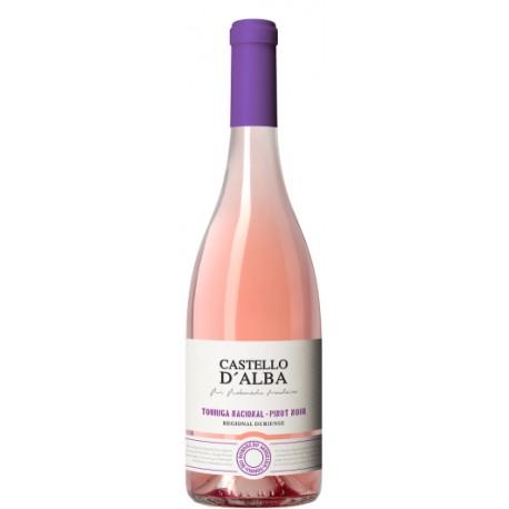 Castello D'Alba Touriga Nacional Pinot Noir Rosé
