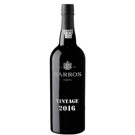 Barros Vintage Port 2016