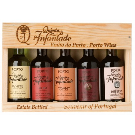 Port Miniatures Quinta do Infantado Porto 5 x 5cl