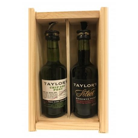 Miniaturas Porto Taylor's 2 x 5cl