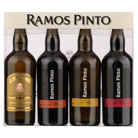 Miniaturas Porto Ramos Pinto 4 x 9cl