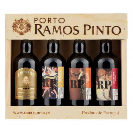 Miniaturas Porto Ramos Pinto Reserva 4 x 9cl