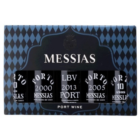 Miniaturas Porto Messias Classico 5 x 5cl