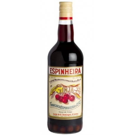 Ginja Espinheira Avec des Fruits Liqueur