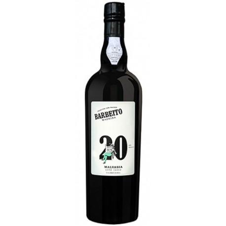 Barbeito Malvasia 20 Ans Madeira