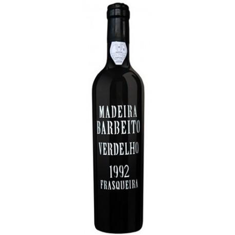 Barbeito Frasqueira Verdelho Madeira 1992