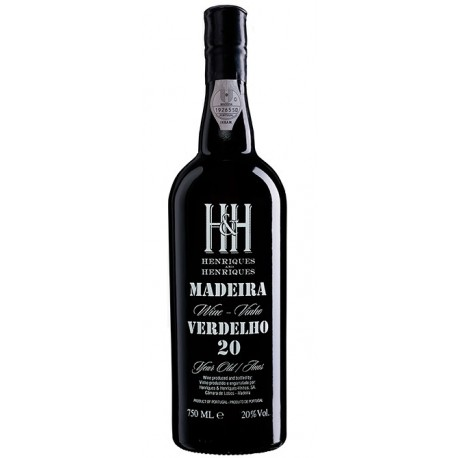 Henriques & Henriques Verdelho 20 Anos Madeira
