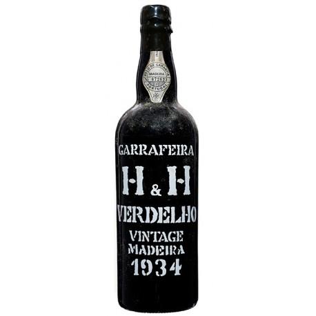 H H Verdelho Vintage Madeira 1934