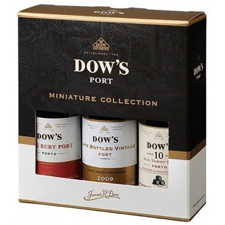 Miniaturas Porto Dow's 3 x 5cl