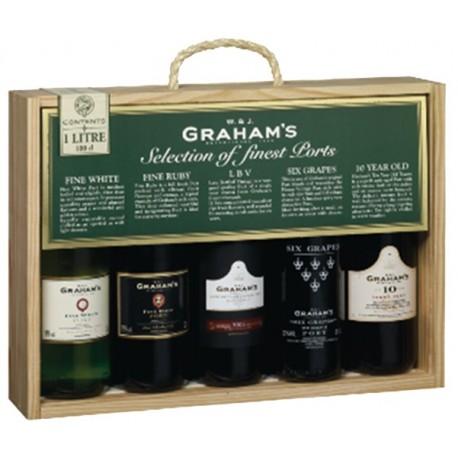 Miniaturas Porto Graham's 5 x 20cl