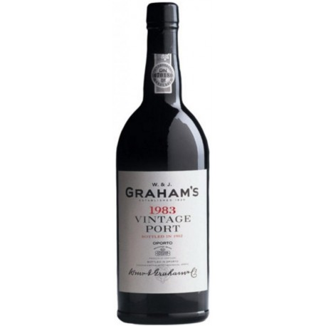 Graham's Vintage Port 1983 75cl